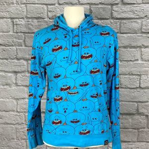 Rick and Morty Mr. Meeseeks Blue Hoodie
